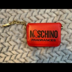 Moschino card holder/mini wallet